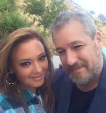 Leah Remini with Tony Ortega
