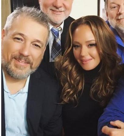 Tony Ortega and Leah Remini